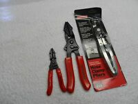 Craftsman Auto Hose Pinch Pliers And Hose Clamp Set, Made In Usa - 3 Pcs