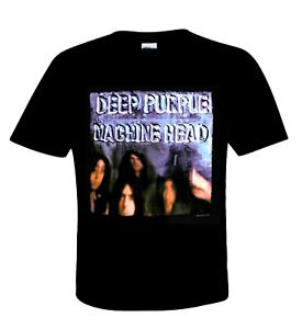 Deep Purple Official T-Shirt Machine Head Hardrock Ritchie Black