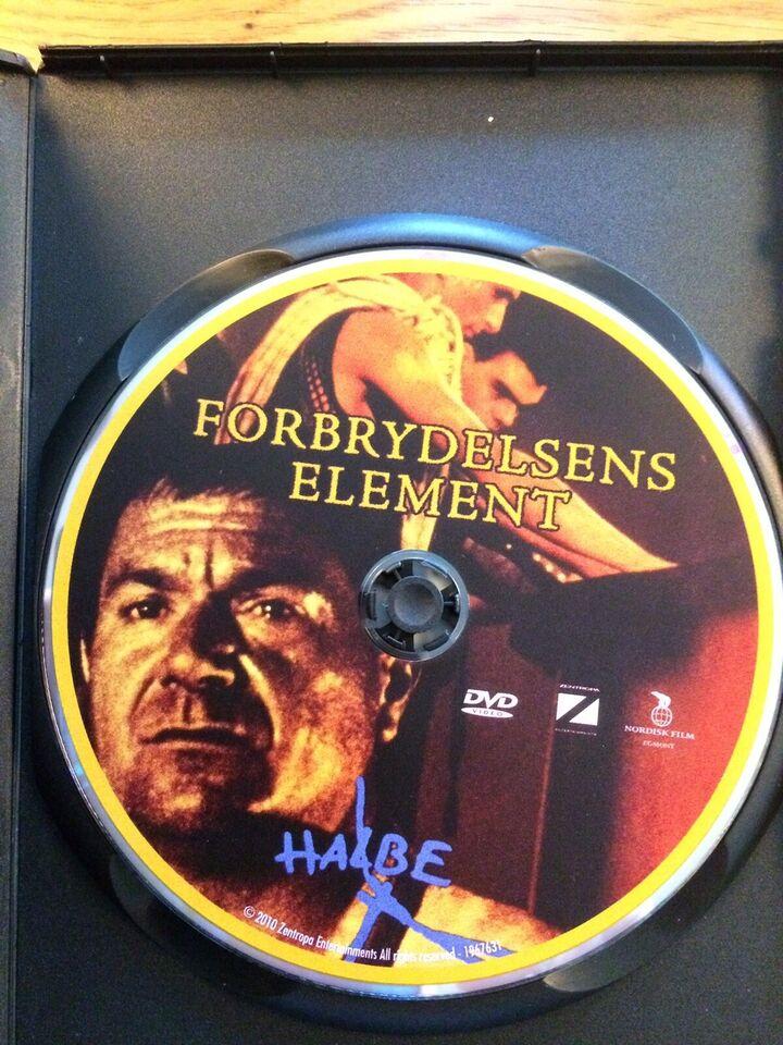 Forbrydelsens Element, DVD, drama