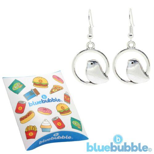 Bluebubble BABY BIRD Earrings Cute Kitsch VTG Pretty Peace Animal Love Boho Chic