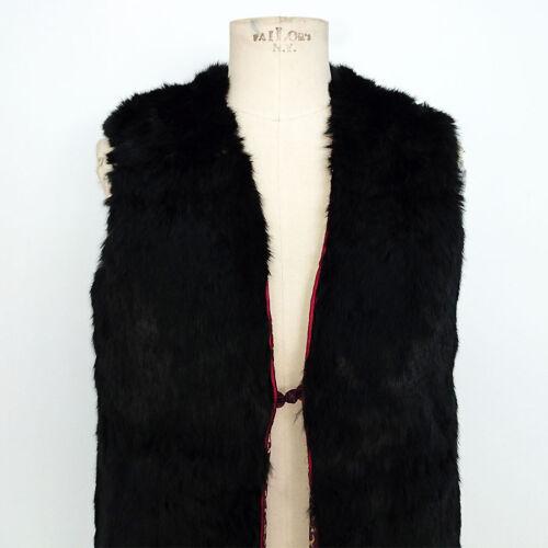 Pelliccia à Art Réversible Gritti Lapin Vintage Donna 7534 aznU4