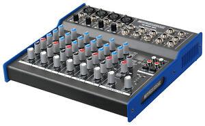 8-KANAL-USB-STUDIO-MISCHPULT-PA-MIXER-DIGITAL-EFFEKT-GERAT-COAX