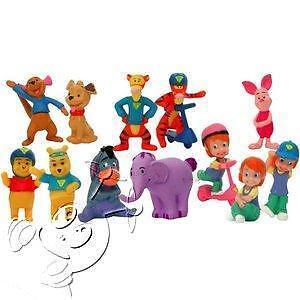 Zaini-My Friends Tigger & Pooh (completa 12 personaggi)