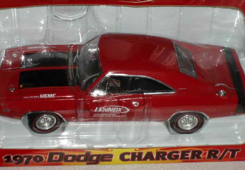 CROWN PREMIUMS 1970 DODGE CHARGER RT HEMI 1/24 LENNOX