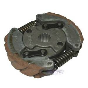 Clutch-Pad-Assy-2-Shoe-Fit-LEM-50-Italjet-50-Motorcycle-Splined