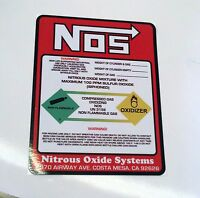 No Weight Nitrous Oxide Bottle Label Sticker Decal The Best Quality