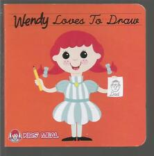 Wendy Loves To Draw N Guenzler Board Book 2013 Wendy's International Inc.