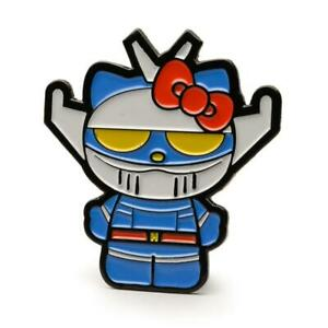 Kidrobot HELLO KITTY TIME TO SHINE Enamel Pin Series ROCKABILLY Open Blind Box