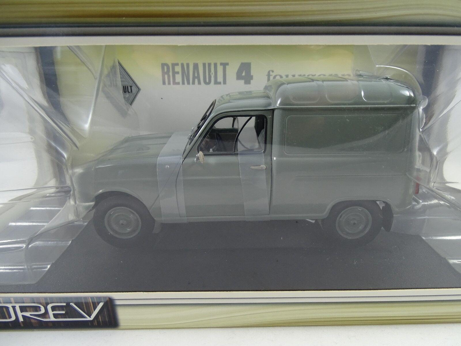 Norev 185190 Renault 4F4 Gris - Rareza Nuevo / Embalaje Original