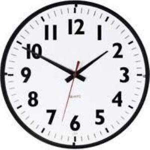 Westclox-14-034-Office-Black-White-Clock