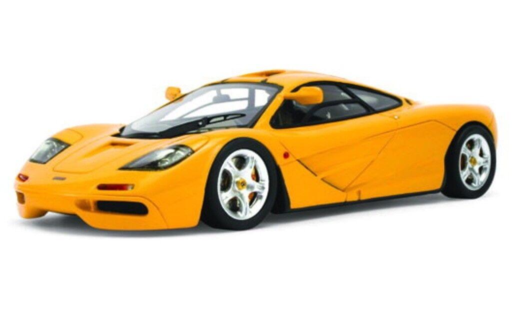 TSM 134326 McLaren F1 resin model car 'High Mirrors' Papaya orange  1995  1 43rd