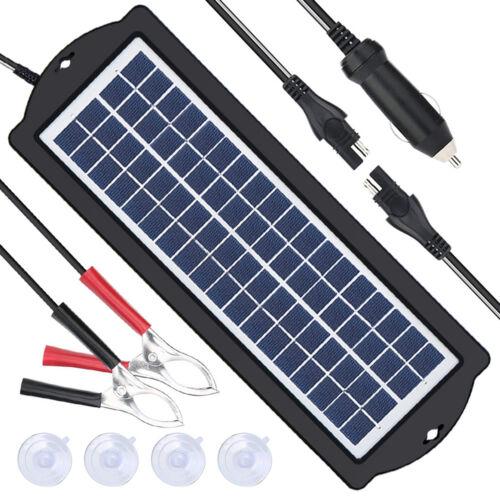 Solar Panels Battery Trickle Charger Auto Car Portable Solar Panel Battery Kit
