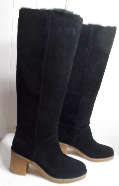 NEW UGG Boots KASEN TALL Black Women's Size 11