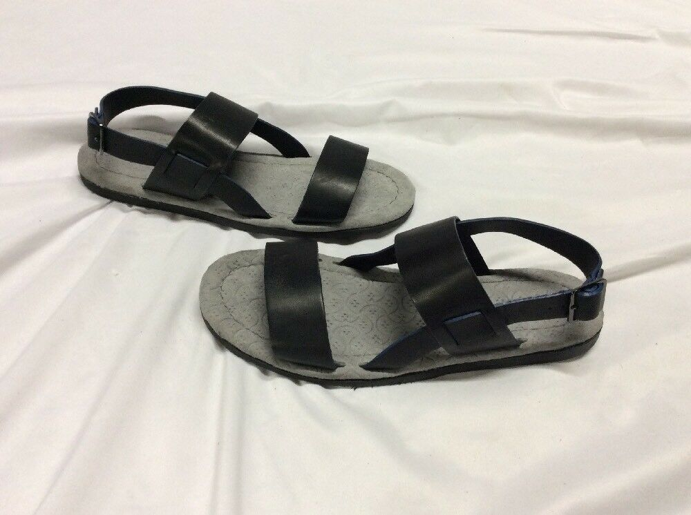 Ted Baker Baker Baker London Men's leather dress Sandals Size 8,Black Robii EUR 40 4a3df9