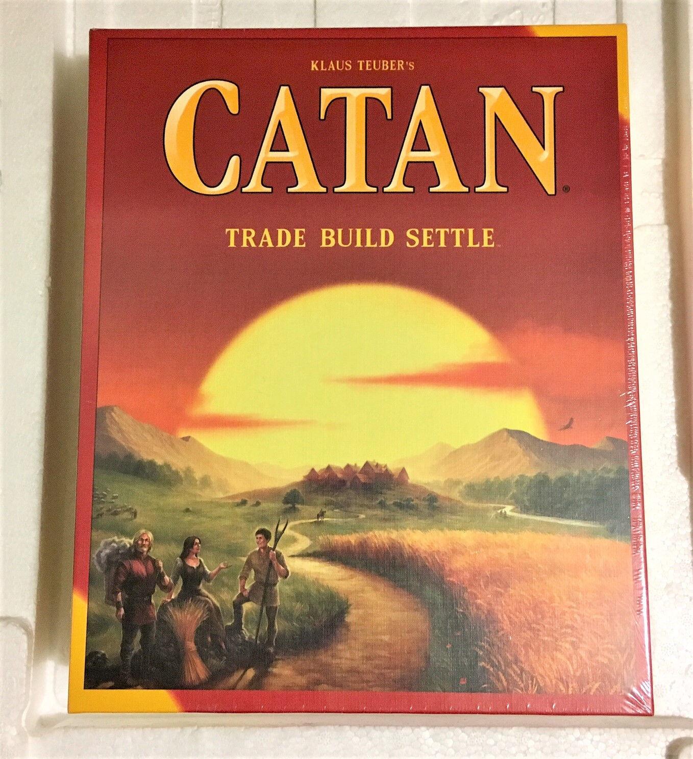 CATAN - Trade Build Settle