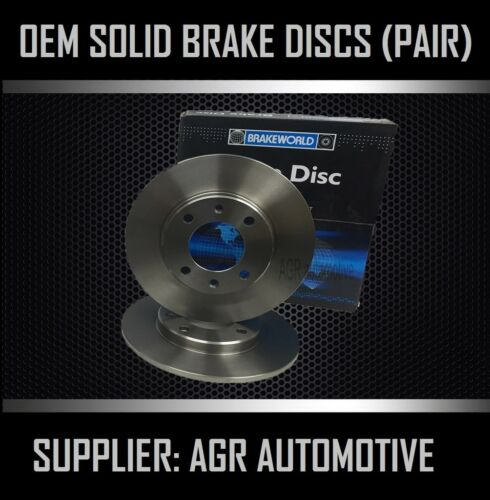 PREMIUM REAR DISCS RS3864 FOR FORD FOCUS MK2 SALOON/HATCH 2.0 2005 ...