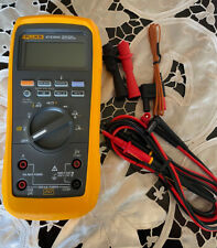 New Listingfluke 87 V 87v Max True Rms Digital Multimeter With Leads And Temp Probe Unused