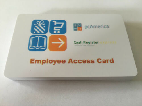 50 pcAmerica RPE CRE Employee Swipe ID Cards High Quality Cards Best Price