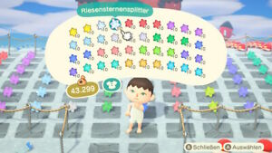Animal-Crossing-New-Horizons-400-Sternsplitter-nach-Wahl-Star-fragments-ACNH