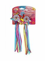 Bike Handlebar Streamers - Kid's Bicycle Pinwheel Streamers - E... Free Shipping