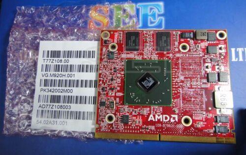 1 * Nueva tarjeta de video ATI de alta definición 4500 4570 M92 en muy buena condición.M920H 512Mb Tarjeta Vga MXM un 216-0728014