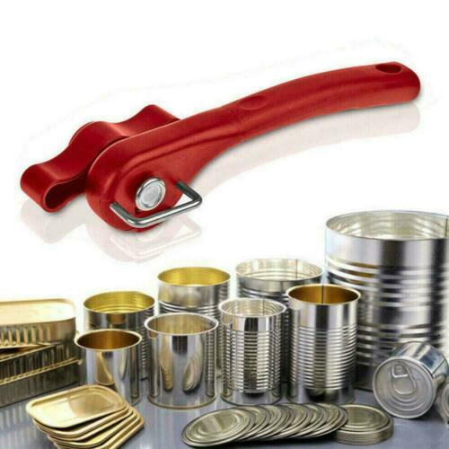 Professional Manual Tin Can Opener Stainless Steel Safe Lid Cut Edge Smooth O0R8