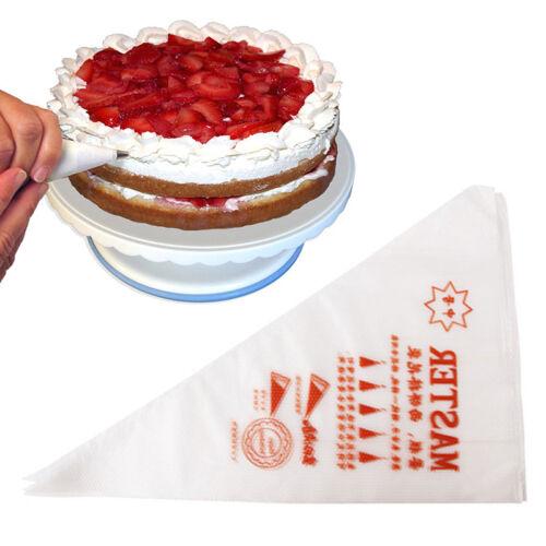 100X Fondant Kuchen Cupcake Gebäck Verzieren Icing Piping Düsen Tipps H7W1