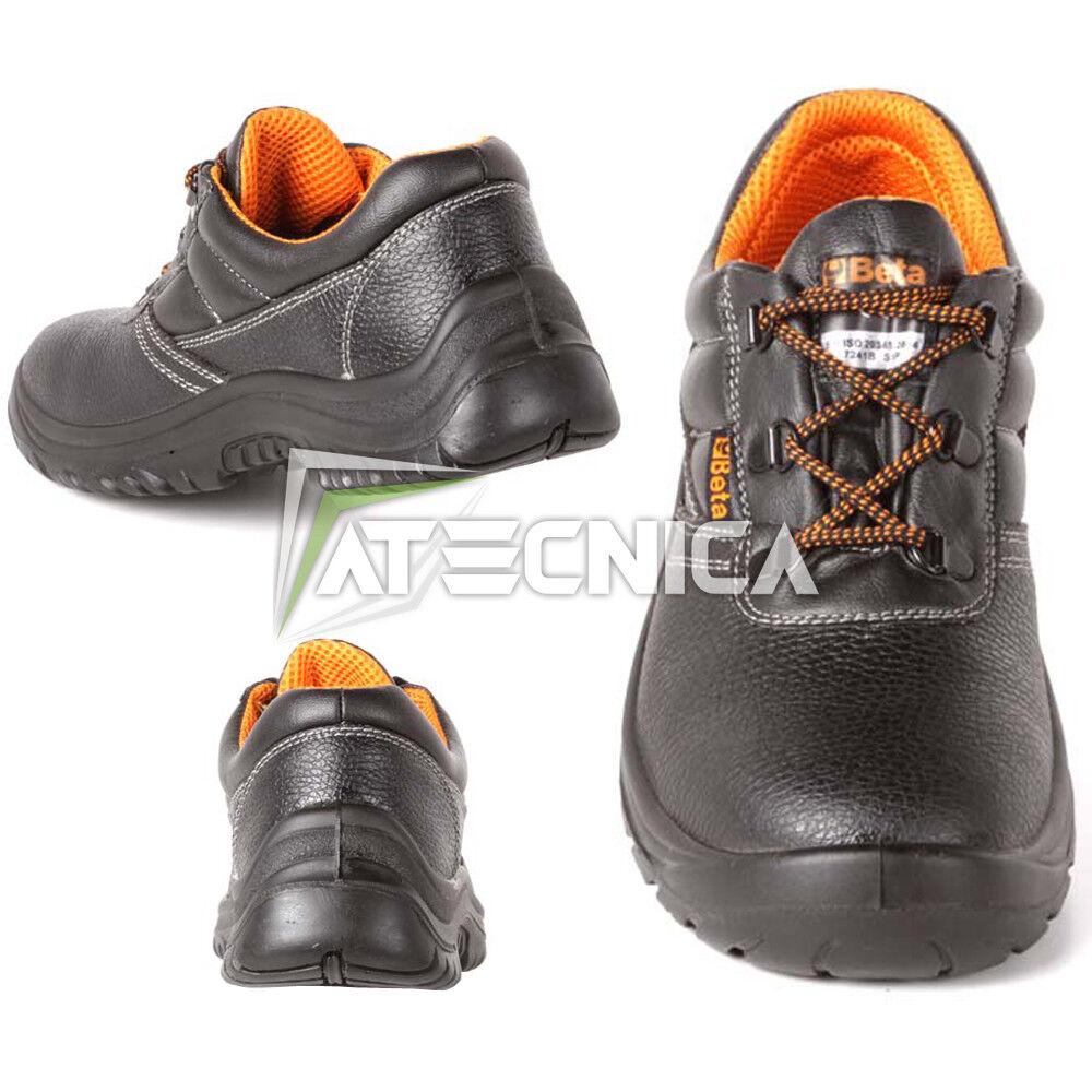 Zapatos Prevención Prevención Prevención & de accidentes BETA 7241C S3 SRC piel con puntales 43688b