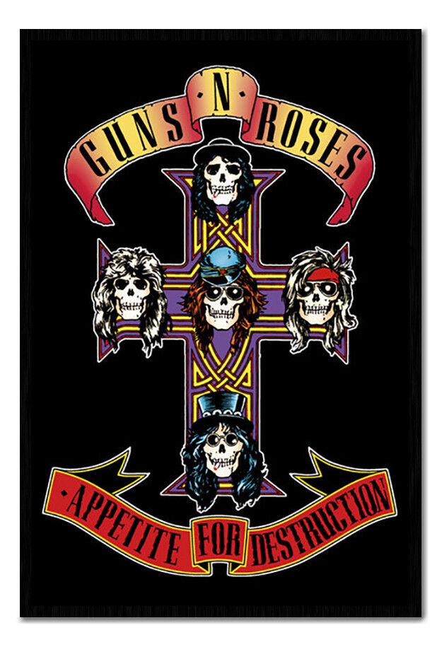 Guns Magnético N Roses Apetito para la destrucción cartel aviso Magnético Guns Imanes Board Inc 34cc58