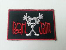 HEAVY METAL PUNK ROCK MUSIC SEW / IRON ON PATCH:- PAERL JAM (b) No. 0051