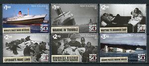 New-Zealand-NZ-2018-MNH-TEV-Wahine-50th-Anniv-6v-Set-Ships-Boats-Stamps