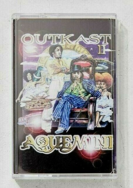 OUTKAST - Aquemini 20th Anniversary (2018) Purple Cassette - BRAND NEW & Sealed