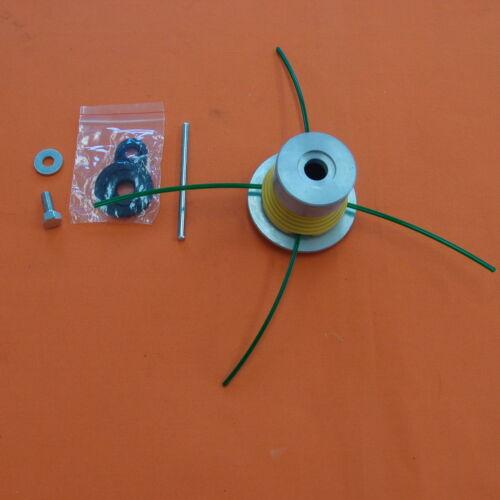 Mähkopf mit 4 Enden 3mm Faden zu je 30cm bestückbar max 2 Fäden