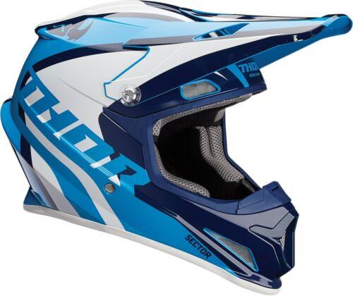 Thor Sector Ricochet Adult Dot Riding Helmet Mx Dirt Bike Offroad Atv Utv