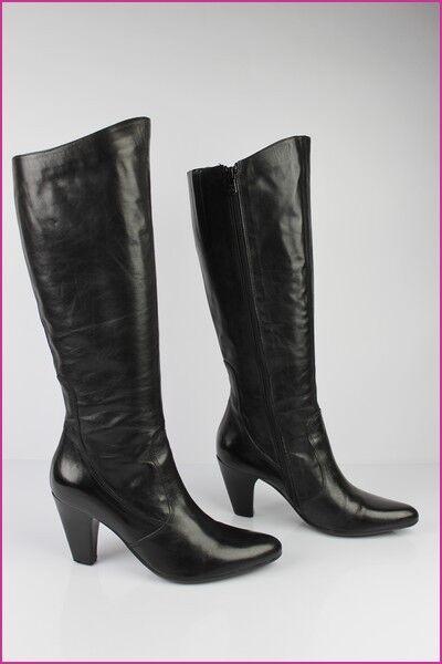 2c241a cuir noir 37 38 bottes t les 5 les le YRzWqf
