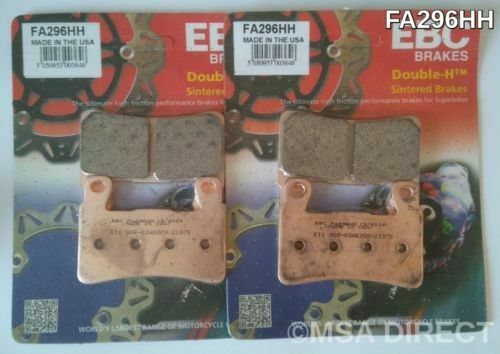 Harley Davidson FXSB Breakout (2015 to 2017) EBC FRONT Sintered Disc Brake Pads