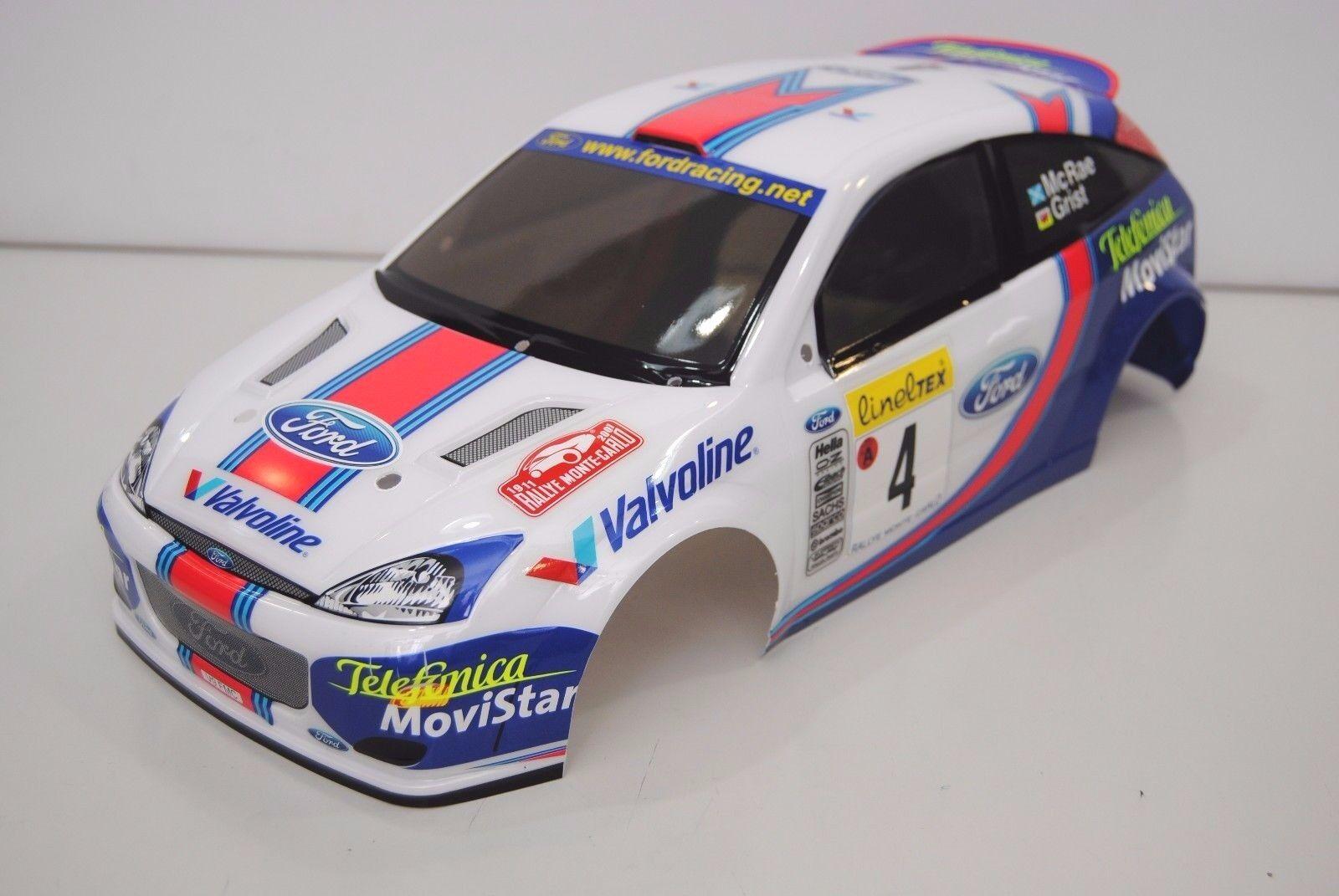 The Rally Legends Carrozzeria FORD FOCUS WRC Verniciata/BODY FORD FOCUS WRC