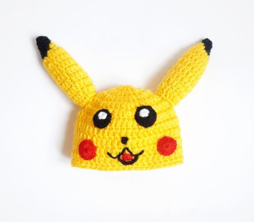 Halloween Baby Hat Pikachu Hat Wig And Diaper Cover Halloween Cosplay