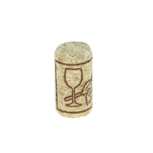 10x Straight Bottle Holzkorken Weinflasche Stopper Korken Weinflasche Plug Nice