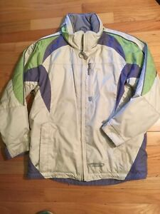 a8ffe665b12a OBERMEYER ALT3 Junior Girls Sz 16 Winter Ski Jacket Coat Waterproof ...