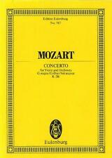 Mozart: Violin Concerto in G Major K216 (Miniature Score) ETP747