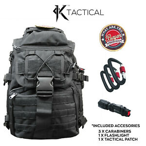 Tactical-Backpack-Black-Molle-Camping-Survival-Hiking-Travel-Outdoor-35L-Kit