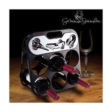 Porta Organizzatori Bottiglia Sommelier Di Pinnacle+Accessorio Per Vino Completo