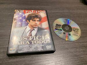 Justice Pour Tous DVD Al Pacino