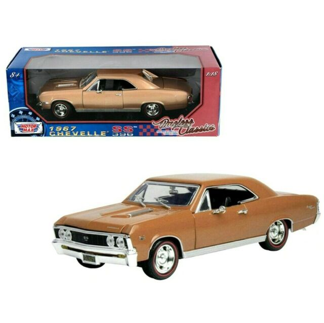 1:18 Scale 1967 Chevrolet Chevelle SS 396 Timeless Classics Diecast Motor Max