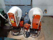 2 Molex Obi Electric Press Bench Top Crimping Machine Crimp Crimper P 4980 4979