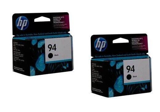 Lot of 2 HP #94 94 Black Ink Cartridges NEW BUY NOW