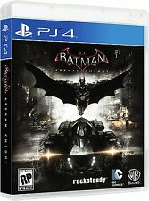 Batman Arkham Knight Scarecrow Sony PlayStation 4 Brand New Sealed PS4 Games New