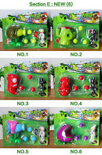 8 Plants vs Zombies Action Figures Kids PVC Shooting Figurines Set Play Game Toy