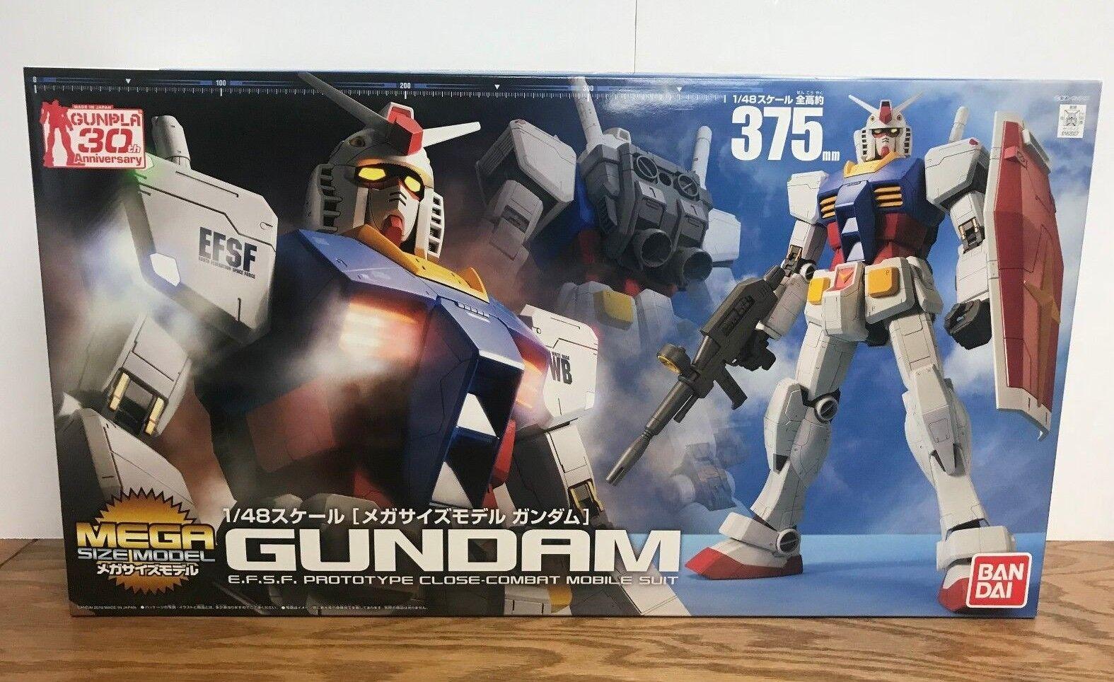 Bandai 1 1 1 48 GUNDAM E.FS.F. Close-Combat Mobile Suit MEGA SIZE MODEL (US SELLER) 25dde8
